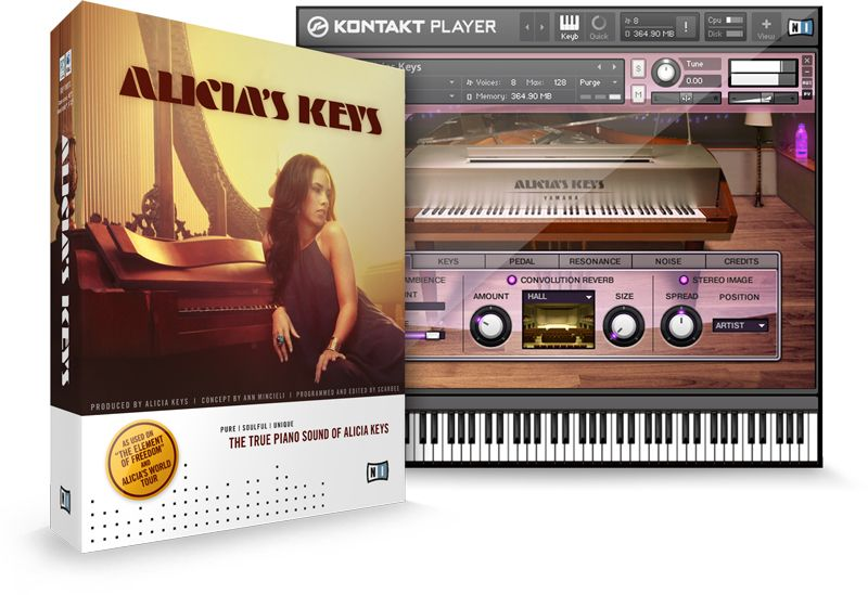 Native Instruments Alicias Keys Kontakt Library