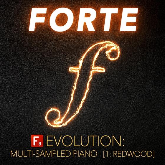 F9 Audio FORTE Evolution Piano : 1 Redwood KONTAKT