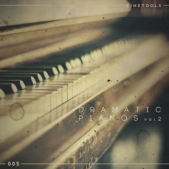 FL117 Cinetools: Dramatic Pianos Vol 2 WAV MIDI