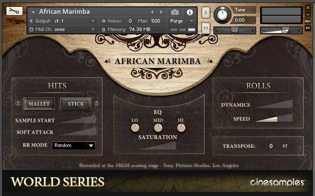 Marimba Soundfont