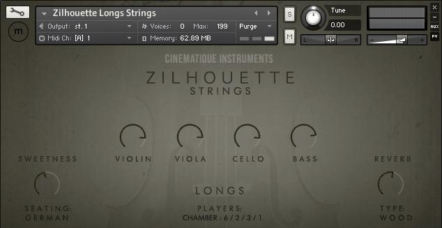 Zilhouette Strings Kontakt Library