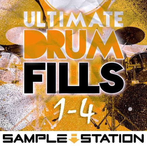 Sample Station Ultimate Drum Fills Vol.1-4 WAV