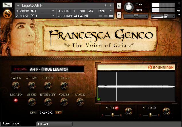 Soundiron Voice of Gaia Francesca Genco