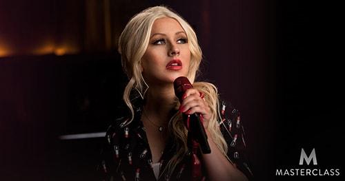 Masterclass Christina Aguilera Teaches Singing Tutorial