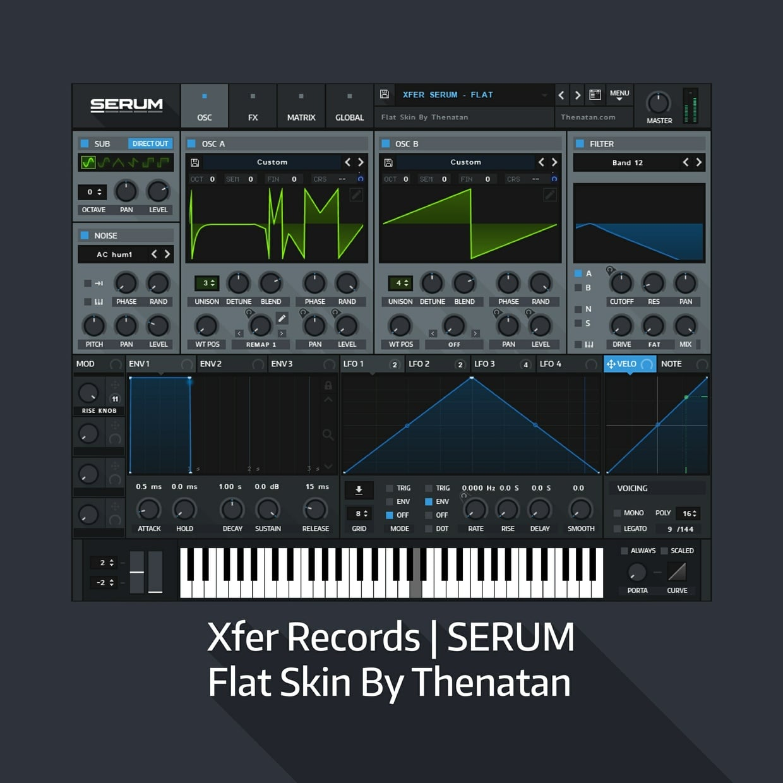 Xfer Records - Flat Skin By Thenatana - Freshstuff4you