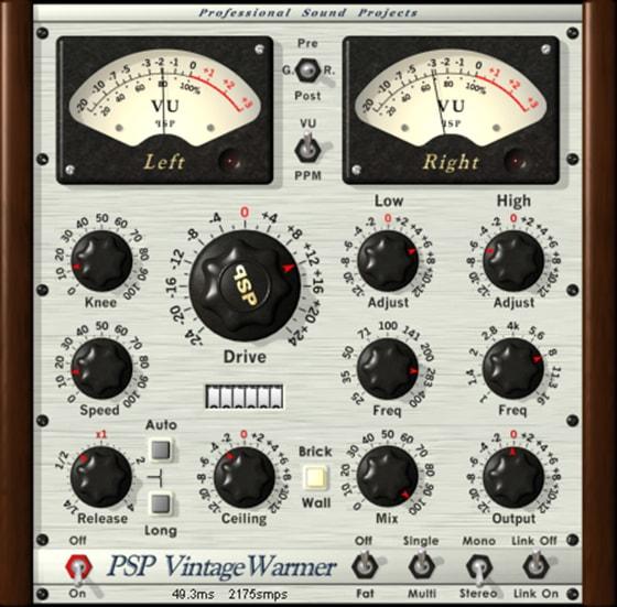 PSPaudioware PSP VintageWarmer2 v2.8.1 [WIN]