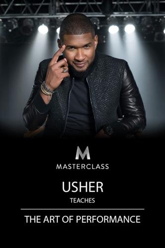 Usher Teaches the Art of Performance Course