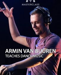 Armin Van Buuren Teaches Dance Music Course