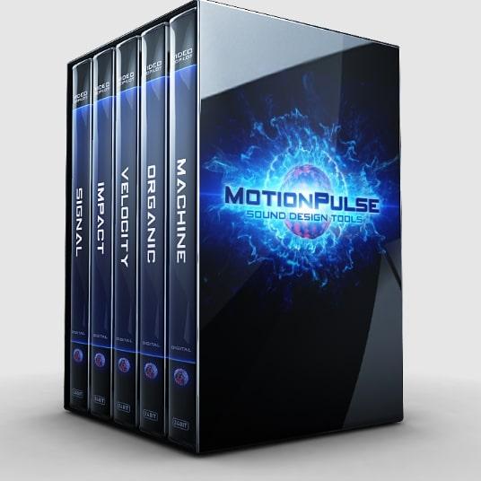 Videocopilot MotionPulse Sound Design Tools WAV