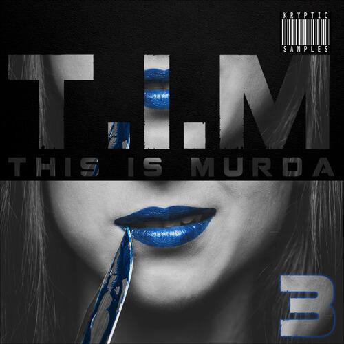 Kryptic Samples T.I.M (This Is Murda) Bundle Vol.1-3 WAV MIDI