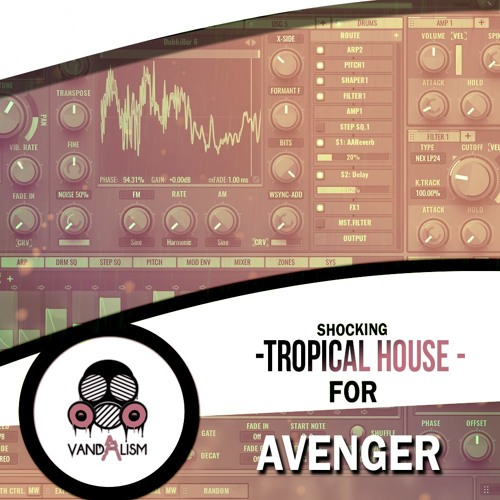 Shocking Tropical House For Avenger - Freshstuff4you
