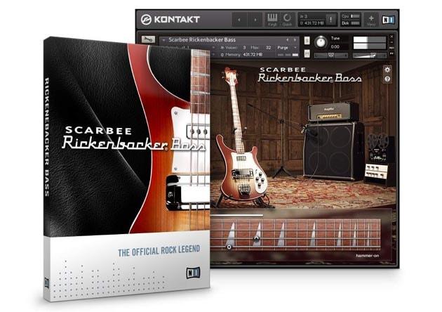 Native Instruments Scarbee Rickenbacker Bass KONTAKT - Freshstuff4you