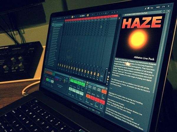 AfroDJMac Haze Ableton Live Pack - Freshstuff4you