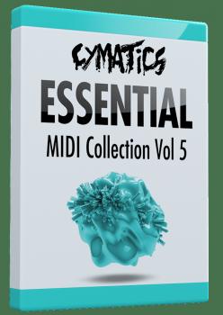 Cymatics Essential MIDI Collection Vol.5 MIDI