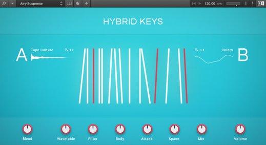 Native Instruments Hybrid Keys 1 0 0 KONTAKT - Freshstuff4you