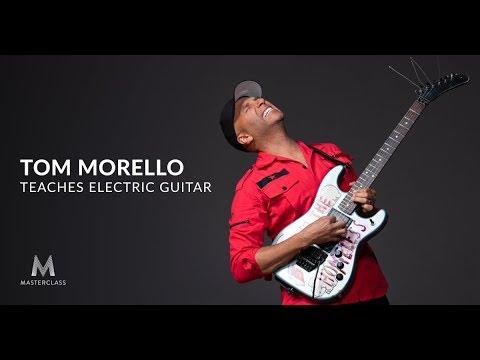 achat spécial en ligne à la vente design distinctif MasterClass Tom Morello Teaches Electric Guitar TUTORIAL ...