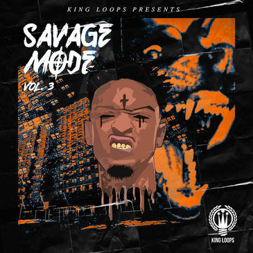 King Loops Savage Mode Vol 3 WAV MIDI - Freshstuff4you