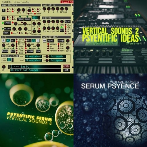 Vertical Sounds Collection Vol 1-4 - Freshstuff4you