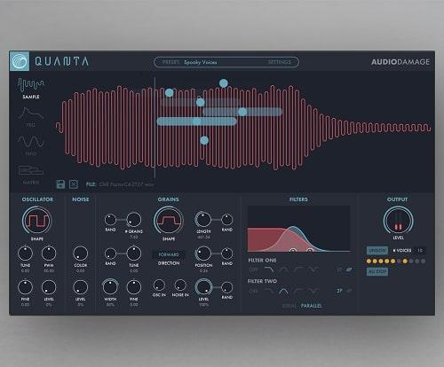 Audio Damage AD046 Quanta v1.1.2b WIN & OSX