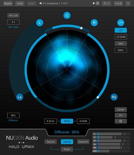 NuGen Audio Halo Upmix v1.5.0.10 WIN