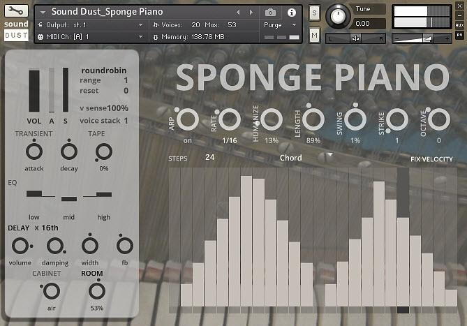 Sound Dust Sponge Piano KONTAKT - Freshstuff4you