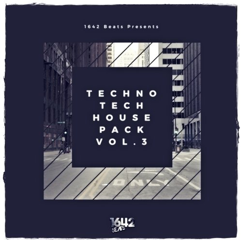 1642 Beats Techno Tech House Pack 3 WAV