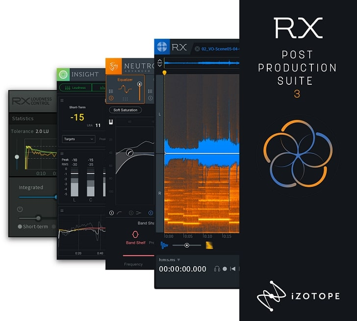 iZotope RX 7 Post Production Suite v3.02 CE-V.R