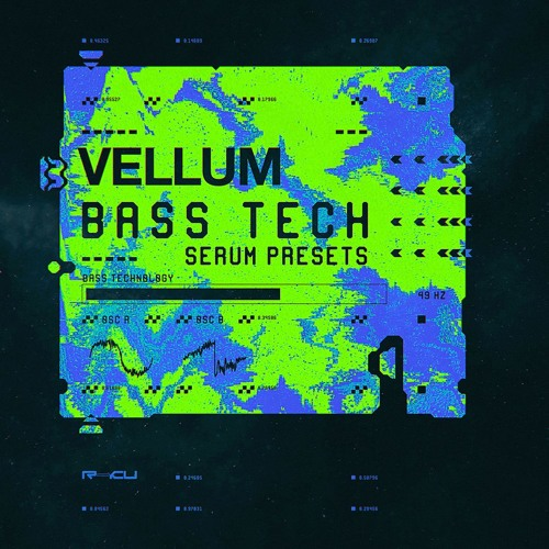 Renraku Vellum Bass Technology Serum Presets FXP
