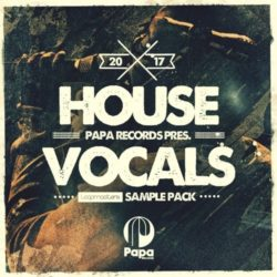 Papa Records House Vocals WAV REX