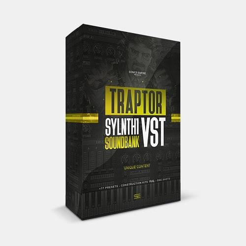 Sonics Empire Traptor (Sylenth1 Bank + Kits)
