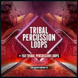 Tribal Percussion Loops WAV REX2