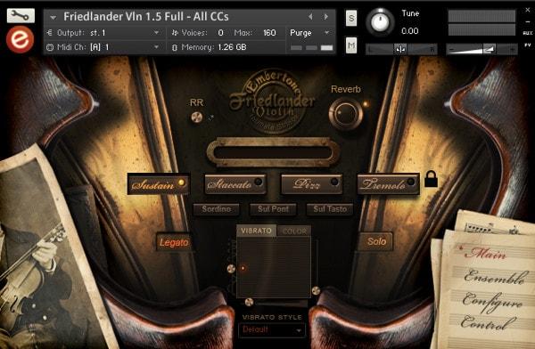 Friedlander Violin v1 5 Combo Edition Kontakt Library