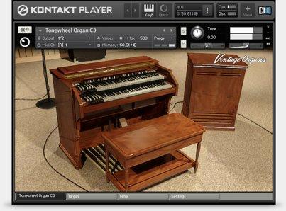 Native Instruments Vintage Organs KONTAKT DVDR-DYNAMiCS