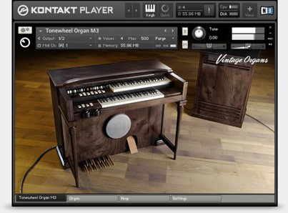 Native Instruments Vintage Organs v1.4.0 KONTAKT UPDATE