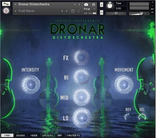 Gothic Instruments DRONAR Distorchestra KONTAKT