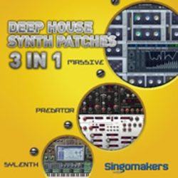 Deep House Synth Patches 3 in 1 MULTIFORMAT