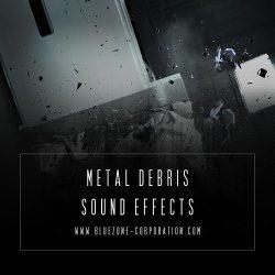 Bluezone Corporation Metal Debris Sound Effects WAV