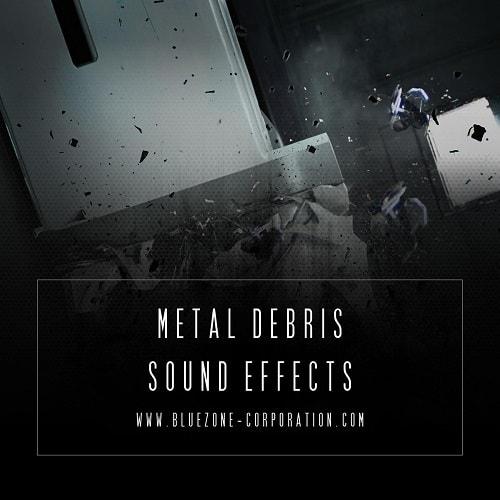 Bluezone Corporation Metal Debris Sound Effects WAV - Freshstuff4you
