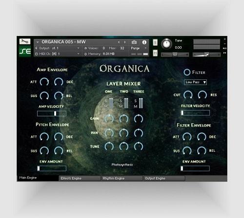 Soundethers Organica KONTAKT LIBRARY