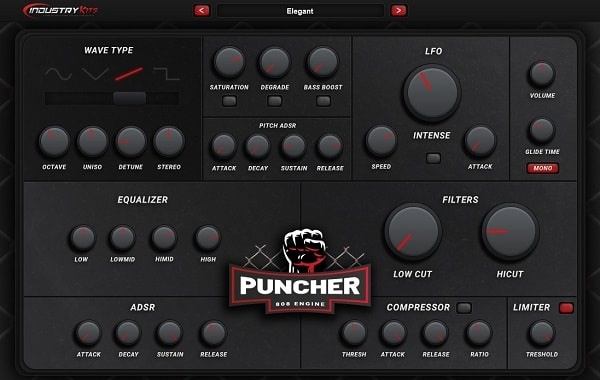 Industrykits Puncher 808 Engine VST v1 0 WIN & MacOSX