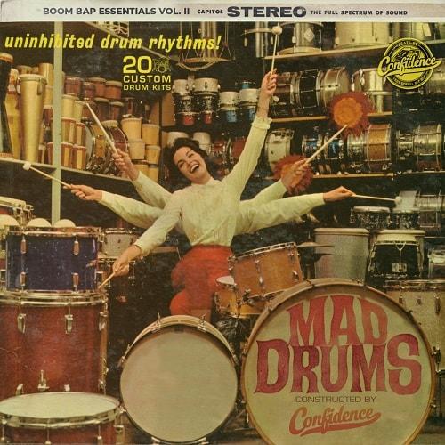 Mad Drums: Boom Bap Essentials Vol  II WAV - Freshstuff4you