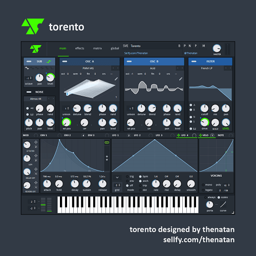 Thenatan Xfer Records Torento Serum SKin - Freshstuff4you