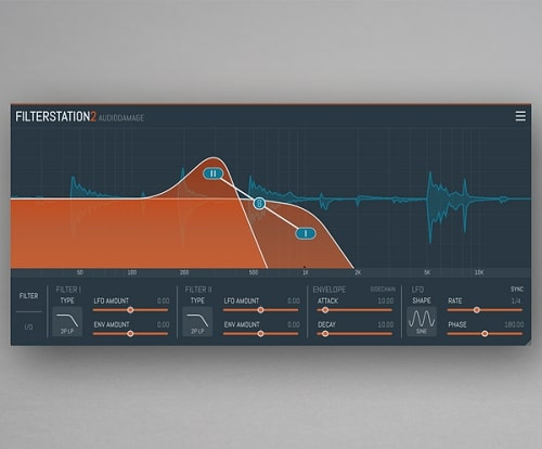 Audio Damage AD043 Filterstation2 v2.0.5 WIN & MACOSX