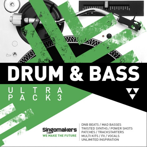 Drum & Bass Ultra Pack Vol 3 MULTIFORMAT - Freshstuff4you