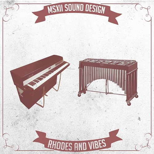 MSXII Sound Rhodes and Vibes 1-3 WAV