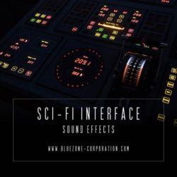 Bluezone Corporation Sci-Fi Interface Sound Effects WAV