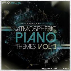 FA048 Atmospheric Piano Themes Vol.3 WAV MIDI