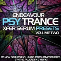 Endeavour PsyTrance For Xfer Serum Vol.2 FXP