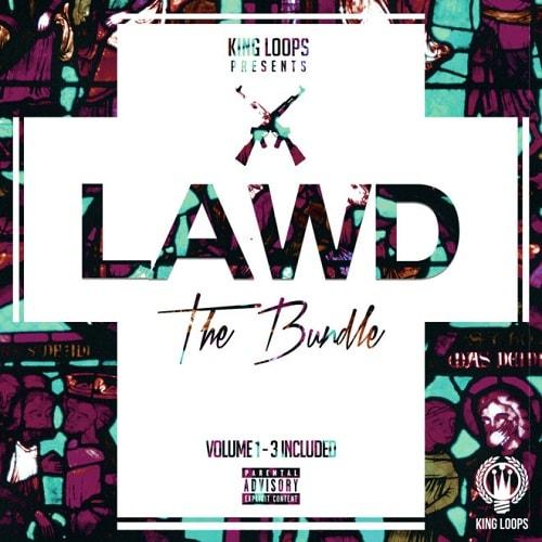 King Loops LAWD Bundle (Vol.1-3) WAV MIDI
