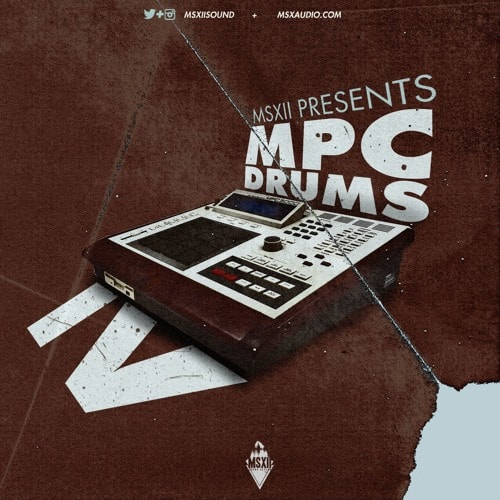MSXII Sound MPC Drums vol. 4 WAV